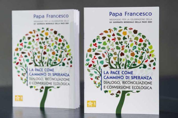 Roma 12-12-2019 Conferenza Stampa per la presentazione del Messaggio per la 53ma Giornata Mondiale della Pace