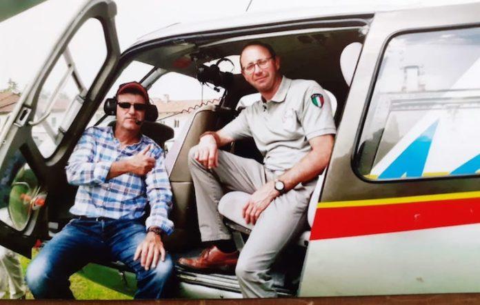Claudio Tallone con Livio Bertaina