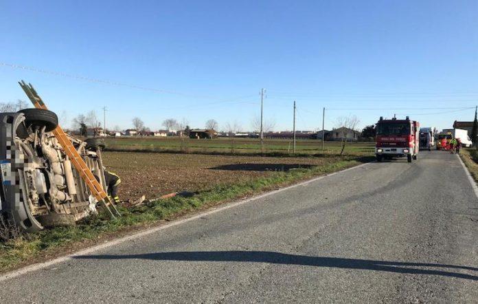 Un incidente lungo la strada tra Fossano e Villafalletto