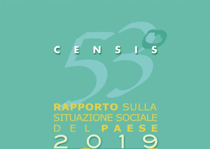 copertina rapprto Censis 2019