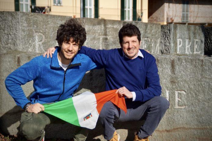 Anpi Fossano: Andrea Silvestro e Massimo Monchiero