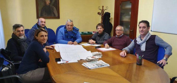 L'incontro in Municipio con i tecnici Rfi
