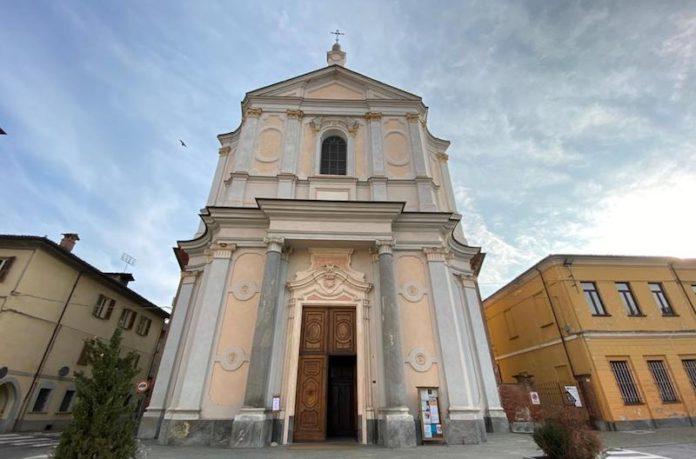 Centallo, la chiesa parrocchiale