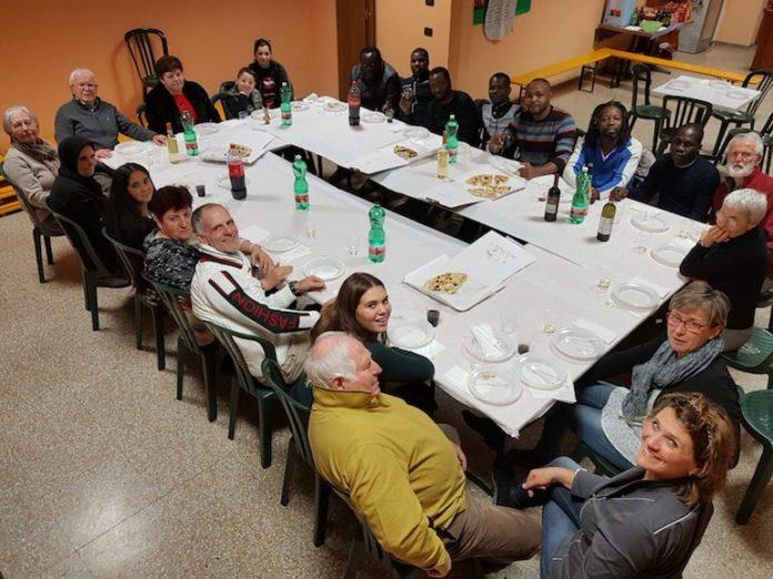 La festa della cooperativa La tenda a Fossano