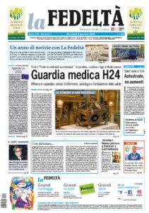 Prima pagina La Fedeltà 08_01_2020