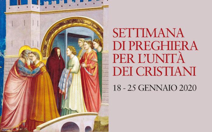 Settimana Preghiera Unità Cristiani locandina 2020