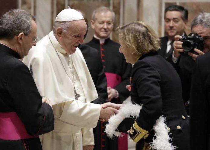 Papa Francesco allo scambio di Auguri con il Corpo Diplomatico