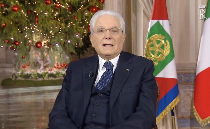 Sergio Mattarella discorso di fine anno 31.12.2019