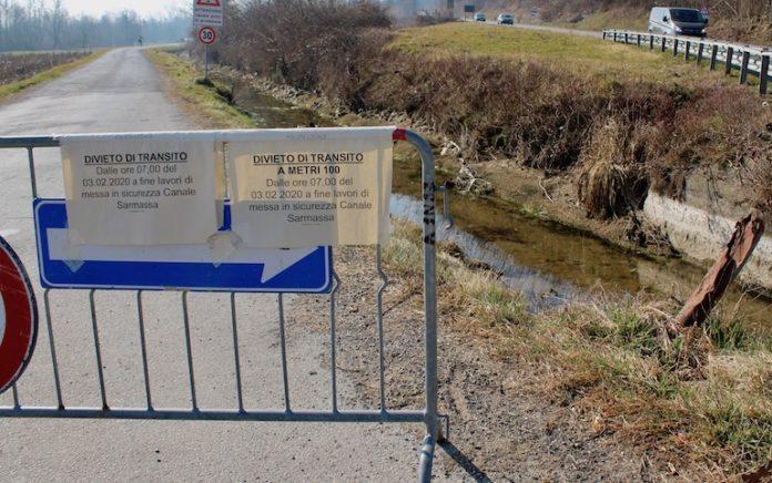 Il canale irriguo Sarmassa a Bene Vagienna