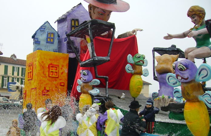 Un'edizione del Carnevale a Fossano negli anni scorsi