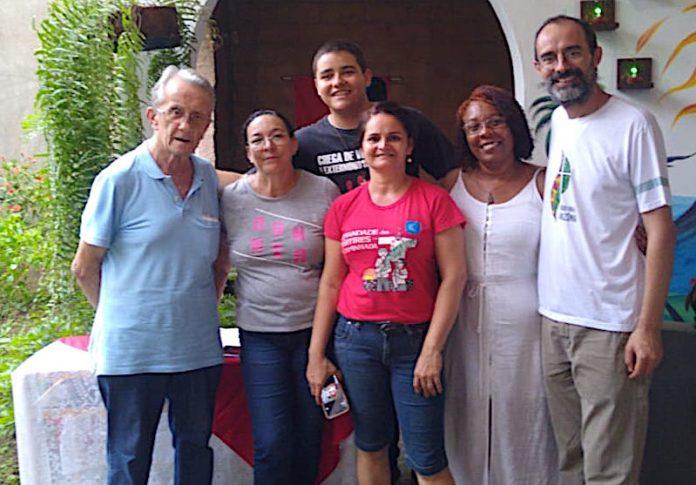 padre Luigi Bruno a Nova Iguazu, in Brasile