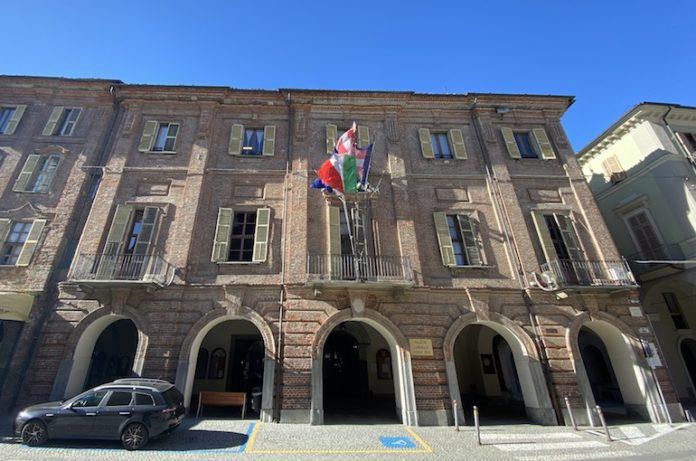 Il Palazzo comunale di Fossano