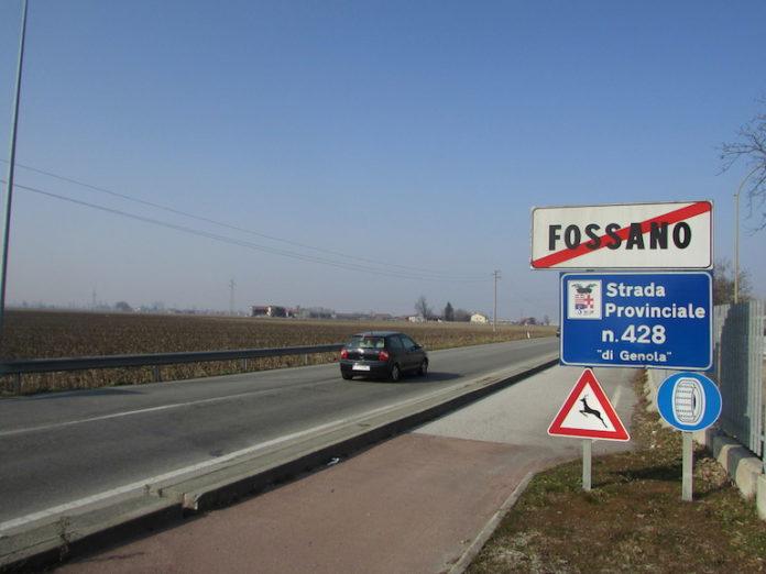 La strada provinciale 428 Fossano-Genola