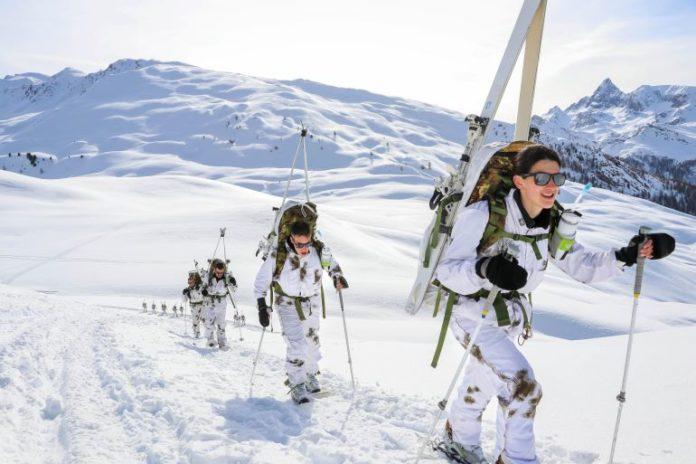 L'addestramento della Brigata alpina Taurinense