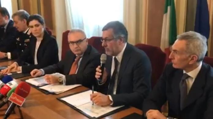 La conferenza stampa riunita oggi in Prefettura a Torino