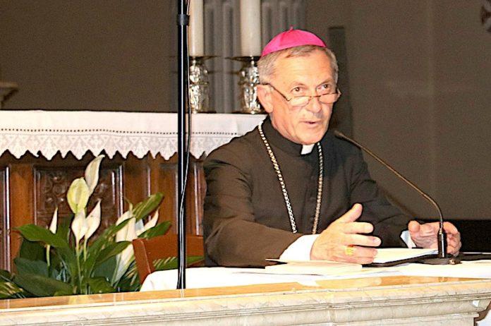 Mons. Egidio Miragoli, vescovo di Mondovì