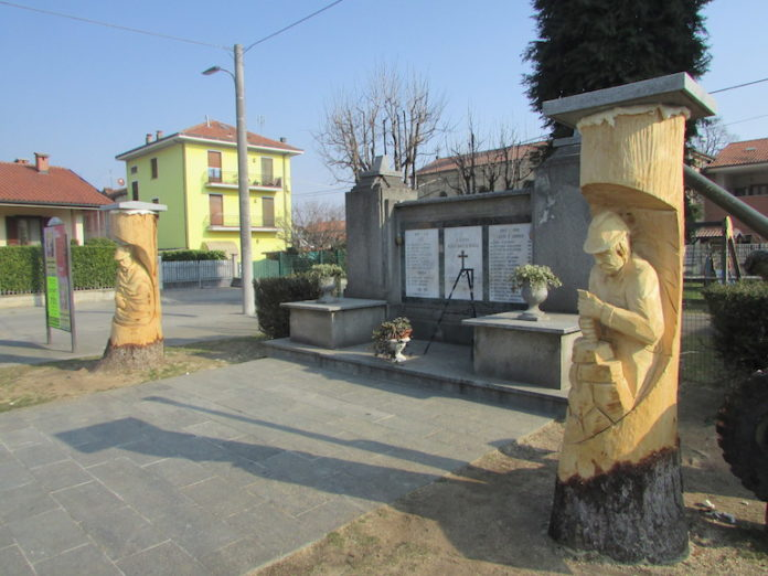 Roata: le sculture in legno di Barba Brisiu