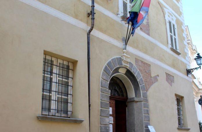 L'ingresso del Comune di Bene Vagienna