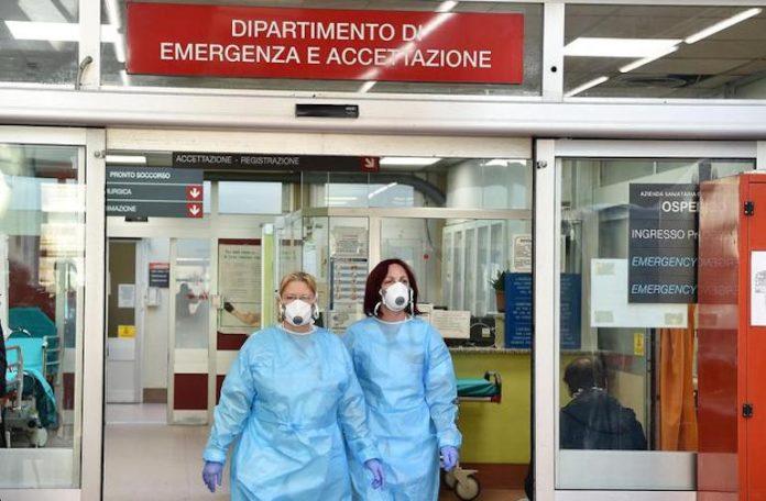 Pronto soccorso dell'ospedale Molinette, Torino, 06 marzo 2020