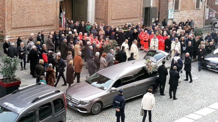 Funerale in Cattedrale a Fossano
