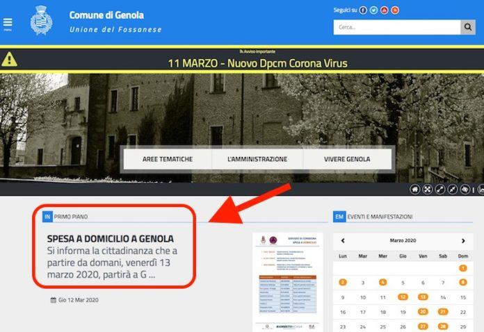 Comune di Genola Home Page