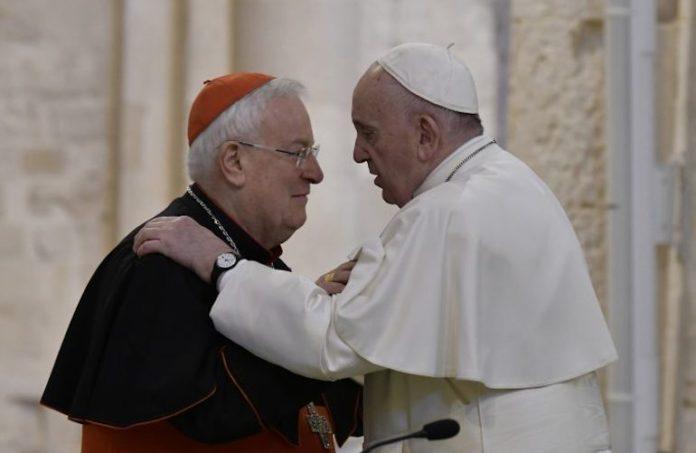 Gualtiero Bassetti e Papa Francesco