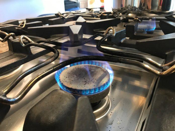 gas cucina fornello