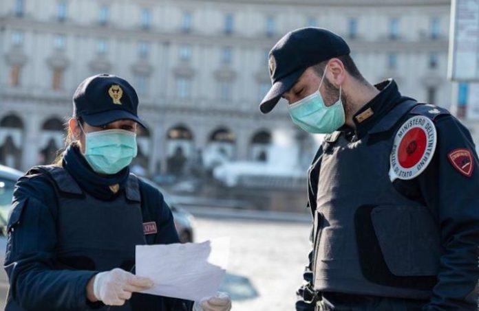 Polizia Controlli Coronavirus