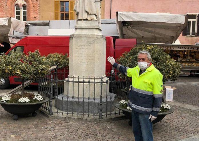 La Protezione civile di Bene Vagienna fronteggia l'emergenza coronavirus