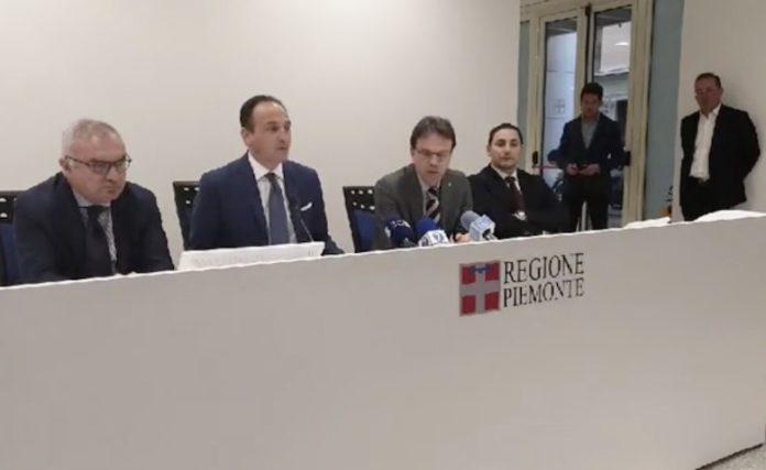 Regione Piemonte emergenza virus