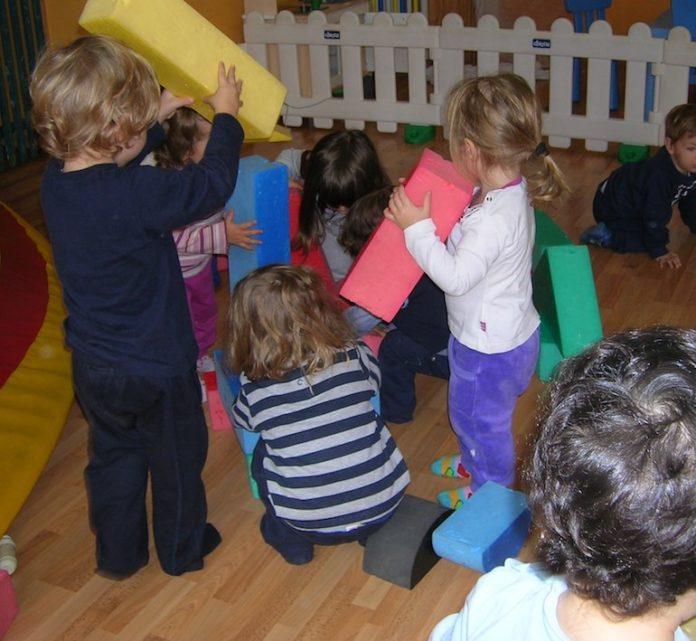 Fossano, la baby area Sbirulino