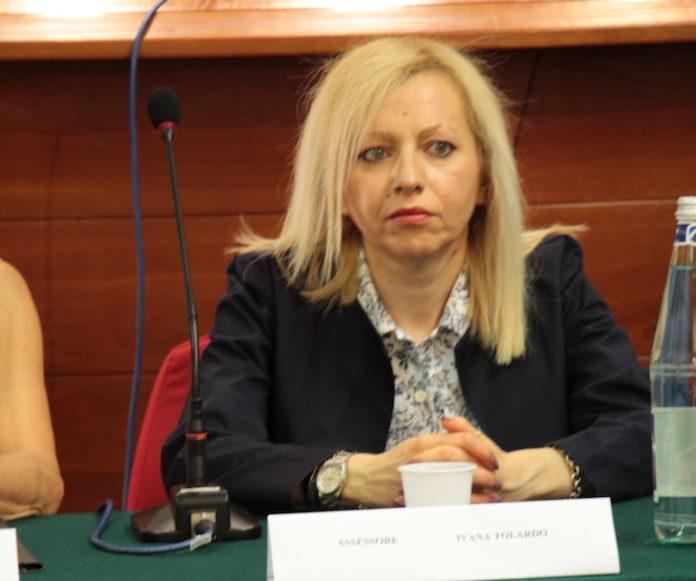 L'assessore Ivana Tolardo