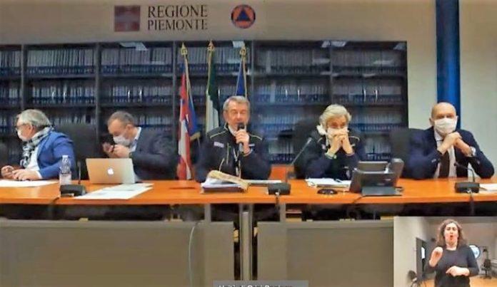 L'Unità di crisi del Piemonte risponde alle critiche in video-conferenza