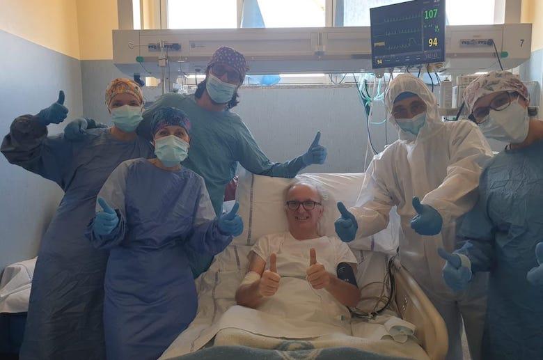 Derio Olivero dall'Ospedale di Pinerolo