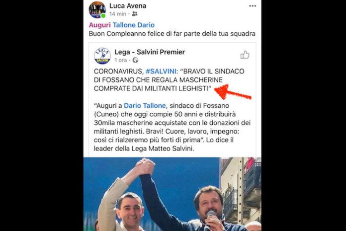 Facebook Lega Salvini