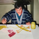 arte terapia al manicomio di Racconigi dal '90 al '94