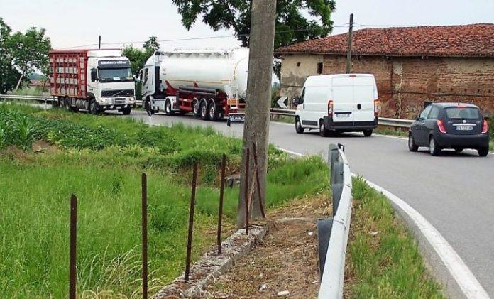 Lavori al via lungo la provinciale tra Fossano e Villafalletto