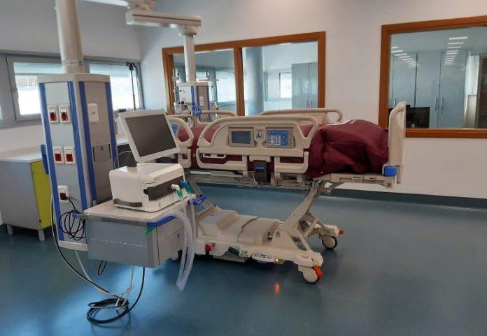 Il letto di terapia sub-intensiva donato dall'associazione dei Dentisti italiani