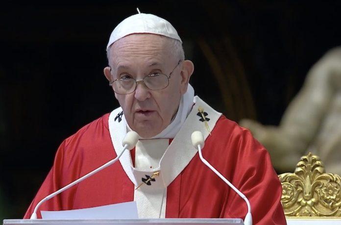 Papa Domenica Delle Palme 2020