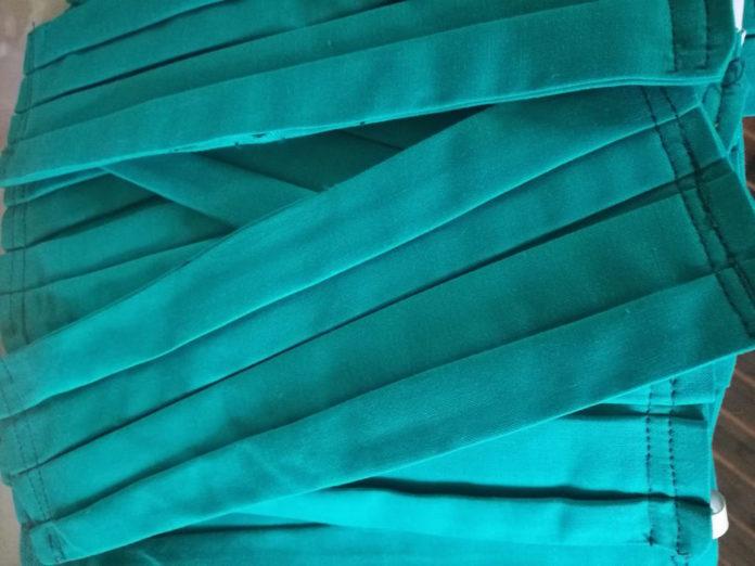 mascherine realizzate dal progetto dell'Unione del Fossanese