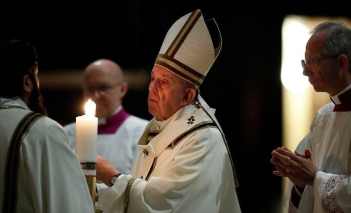 Papa Veglia Pasquale