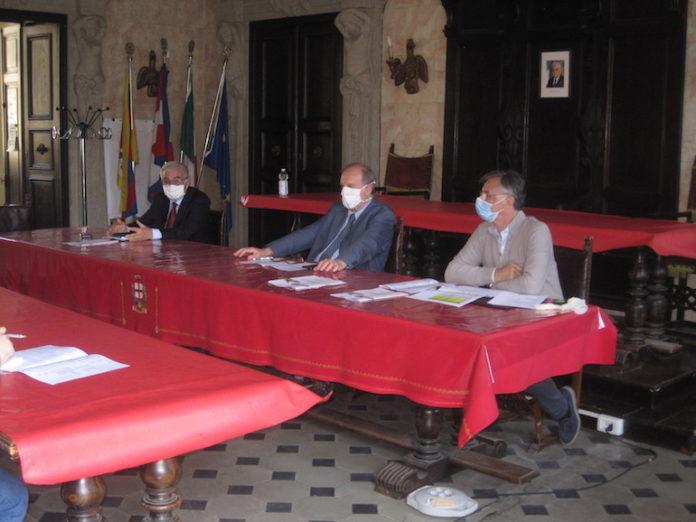 Amici Ospedale Covid: Galletto Remigio, Ambroggio Giulio, Villois Francesco