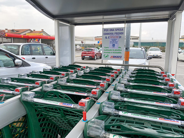 Carrelli spesa supermercato