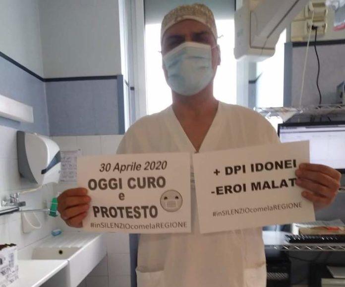 Cgil protesta operatori sanità