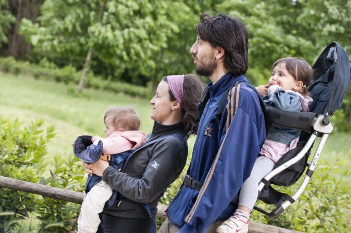 famiglia con bambini