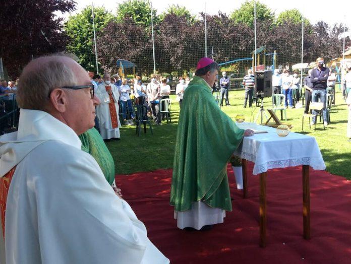 messa in memoria di padre Falcone a Murazzo