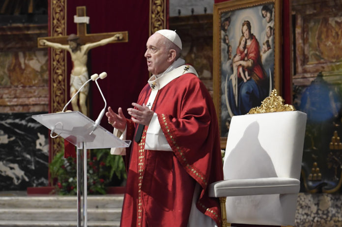 Papa Pentecoste 2020