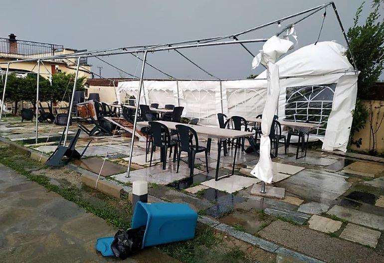 Il maltempo ha provocato danni a Bene Vagienna, dov'è stato annullato un concerto