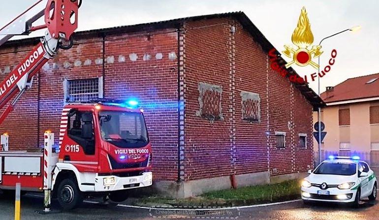 I vigili del fuoco sono intervenuti in più parti della Granda per il nubifragio