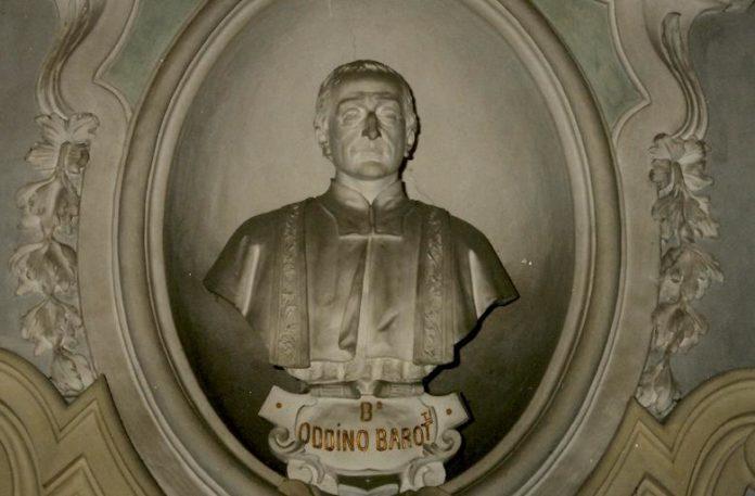 Busto di Oddino Barotti nella Chiesa della SS. Trinità a Fossano